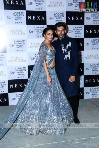 Kiara Advani Walks The Ramp For Manish Malhotra At The Lakme Fashion Week 2021