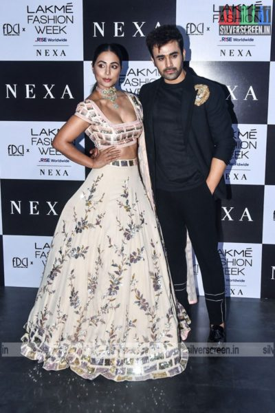 Hina Khan Walks The Ramp For Manish Malhotra At The Lakme Fashion Week 2021