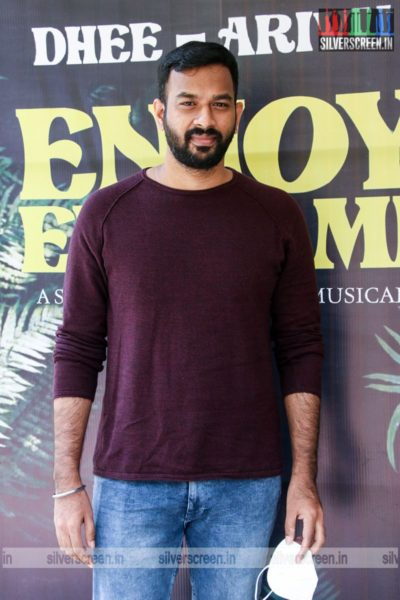 Vivek At The Enjoy Enjaami Single Track Launch