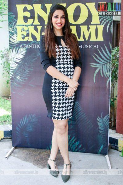 Celebrities At The Enjoy Enjaami Single Track Launch