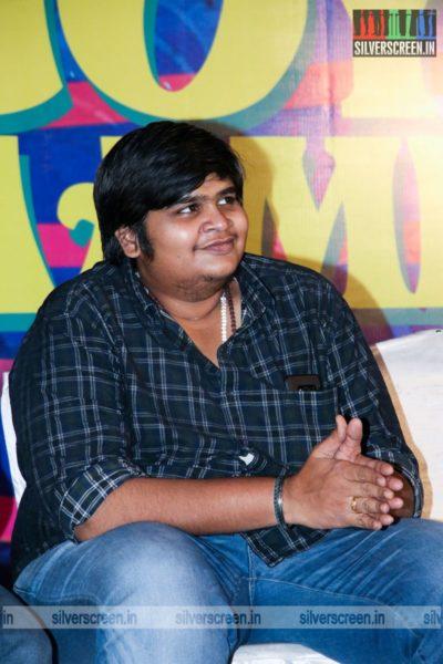 Karthik Subbaraj At The Enjoy Enjaami Single Track Launch