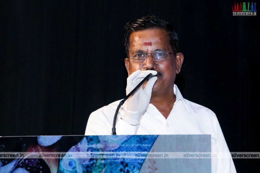 Kalaipuli S Thanu At The Enjoy Enjaami Single Track Launch