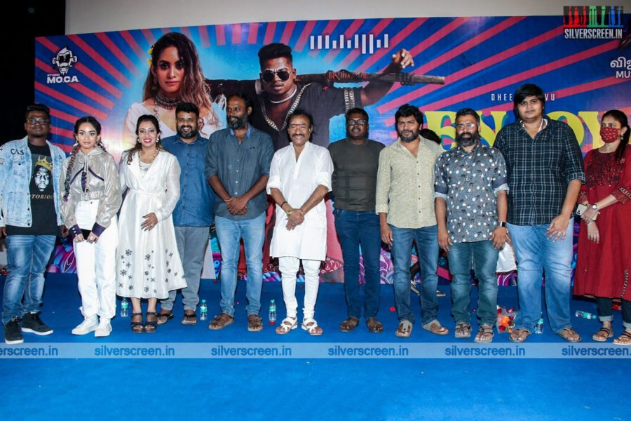 Mari Selvaraj, Karthik Subbaraj At The Enjoy Enjaami Single Track Launch