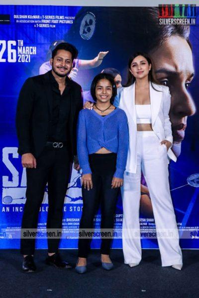 Parineeti Chopra At The Saina Trailer Launch