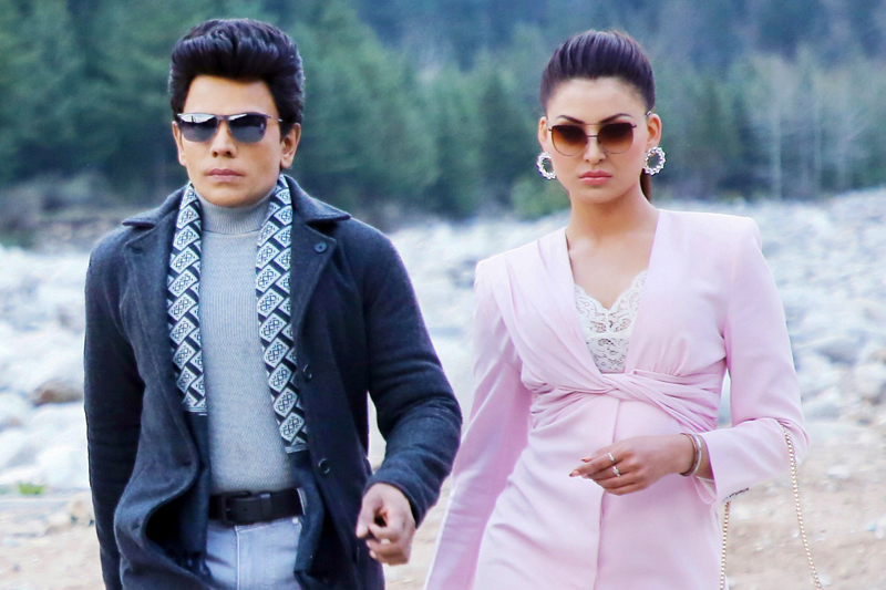 The Legend Saravanan 'Untitled' Movie Stills Starring Urvashi Rautela