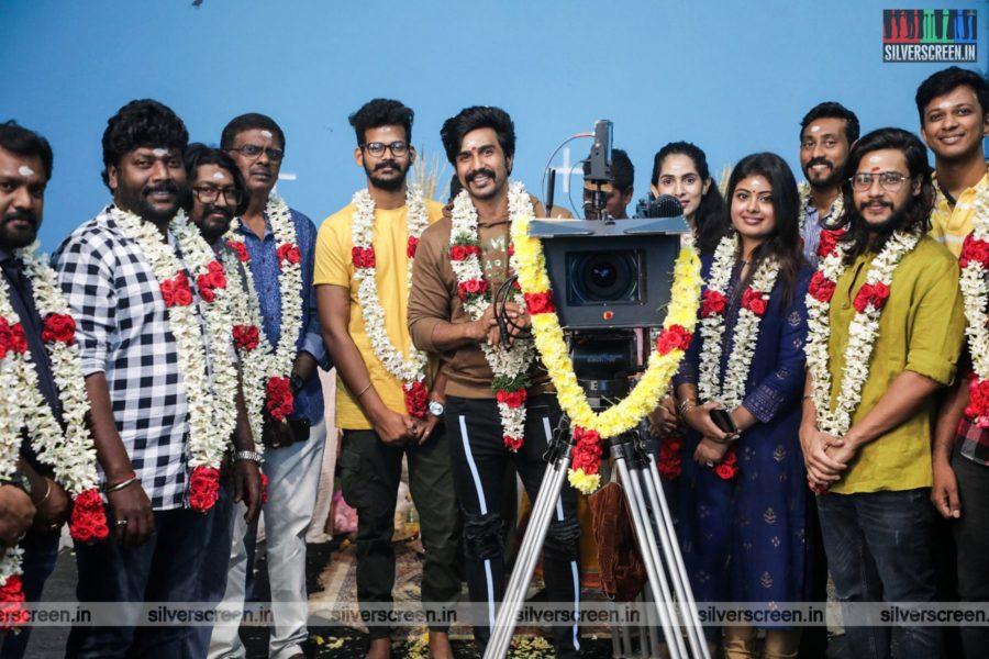 Vishnu Vishal At The Mohandas Movie Launch