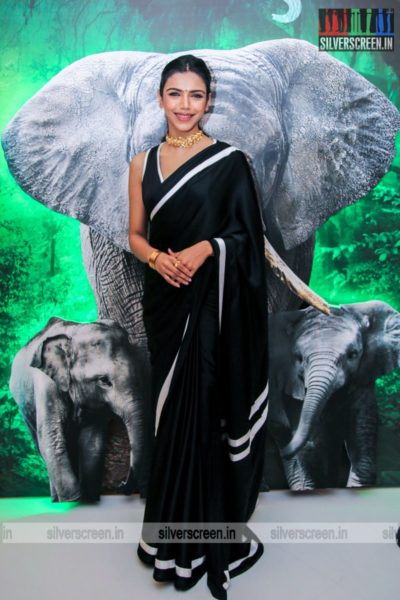 Shriya Pilgaonkar At The Kaadan Trailer Launch