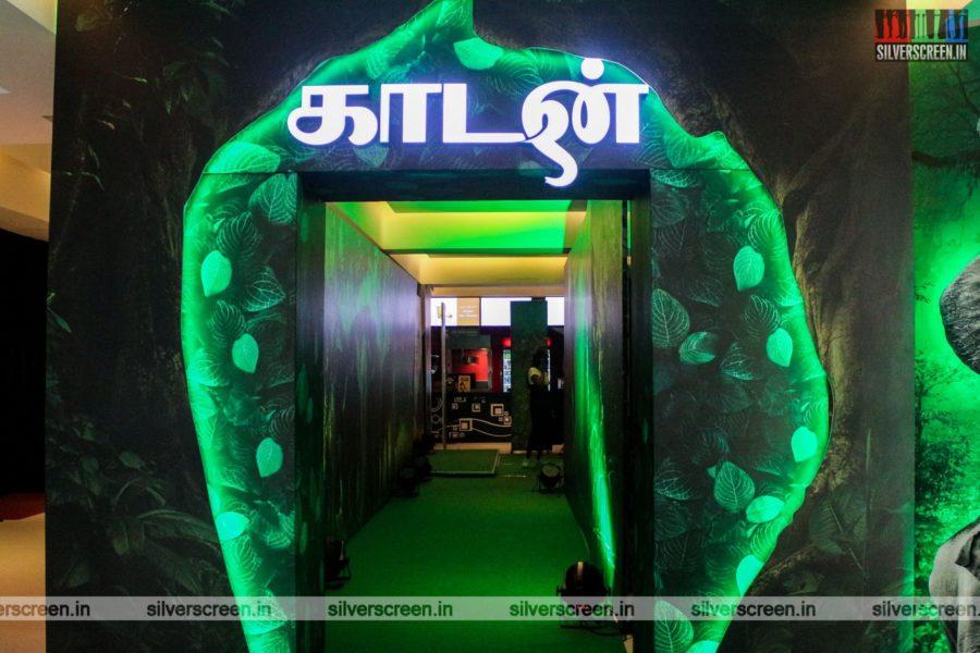 Kaadan Trailer Launch Photos