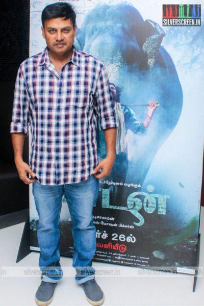 Prabhu Solomon At The Kaadan Trailer Launch