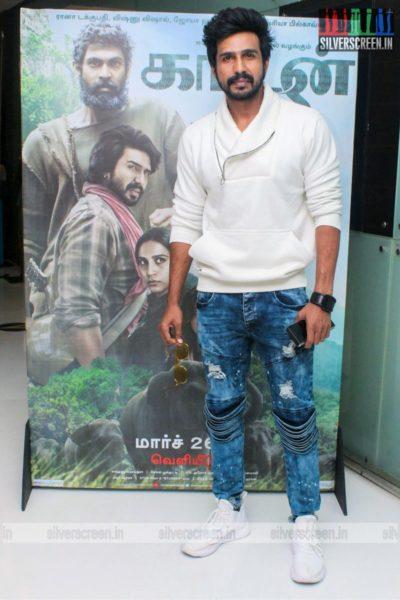 Vishnu Vishal At The Kaadan Trailer Launch