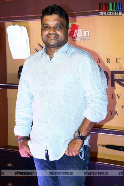 Arivazhagan At The Borrder First Look Launch