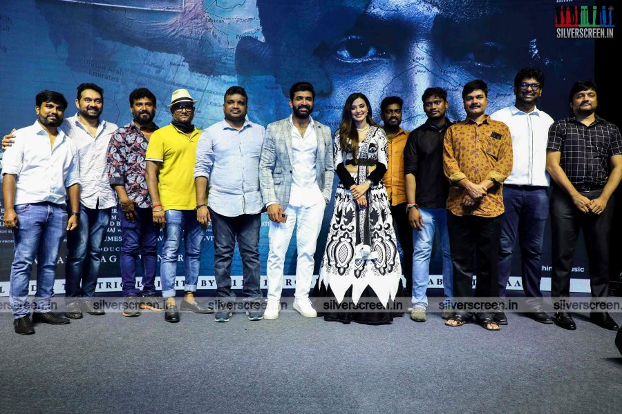 Arun Vijay, Stefy Patel At The Borrder First Look Launch