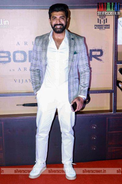 Arun Vijay At The Borrder First Look Launch