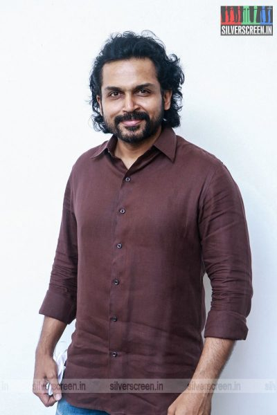 Karthi At The Sulthan Succes Meet