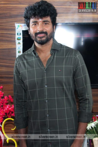 Sivakarthikeyan At The AGS Production No. 11 Movie Launch