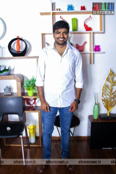 Sathish At The AGS Production No. 11 Movie Launch