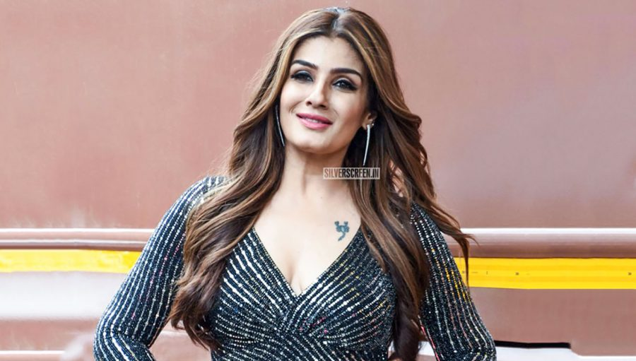Raveena Tandon One The Sets Of Nach Baliye 9