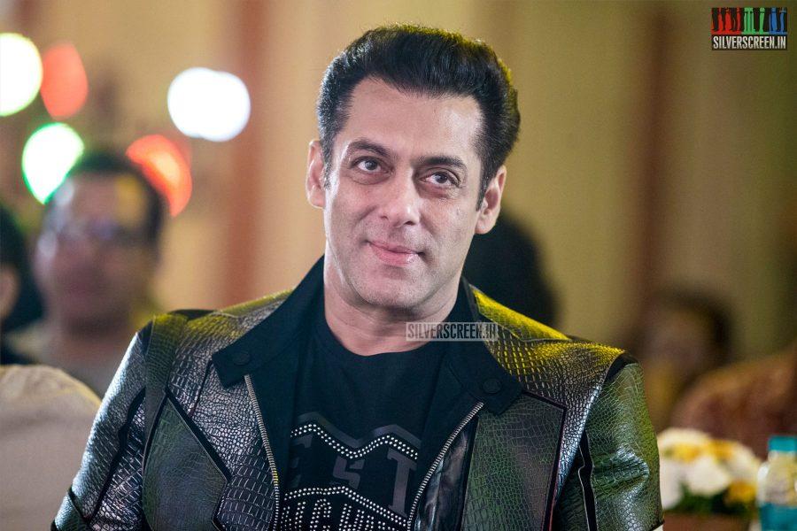 Salman Khan At The 'Dabangg 3' Press Meet