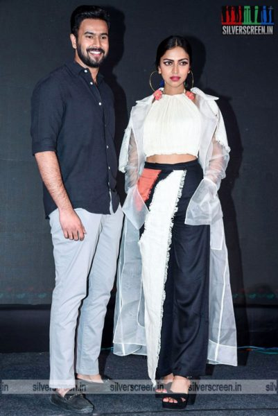 Amala Paul Promotes Kudi Yedamaithe In Hyderabad