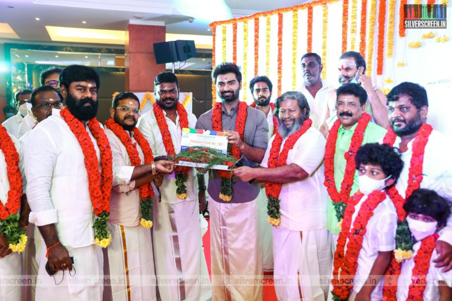 Atharvaa At A Movie Launch