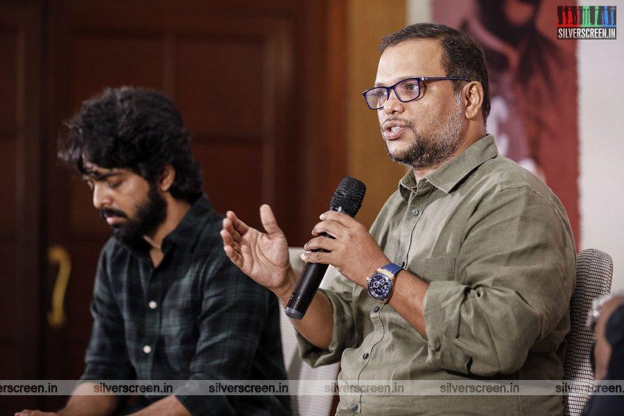 GV Prakash Kumar At The Freedom-75 Press Meet In Chennai