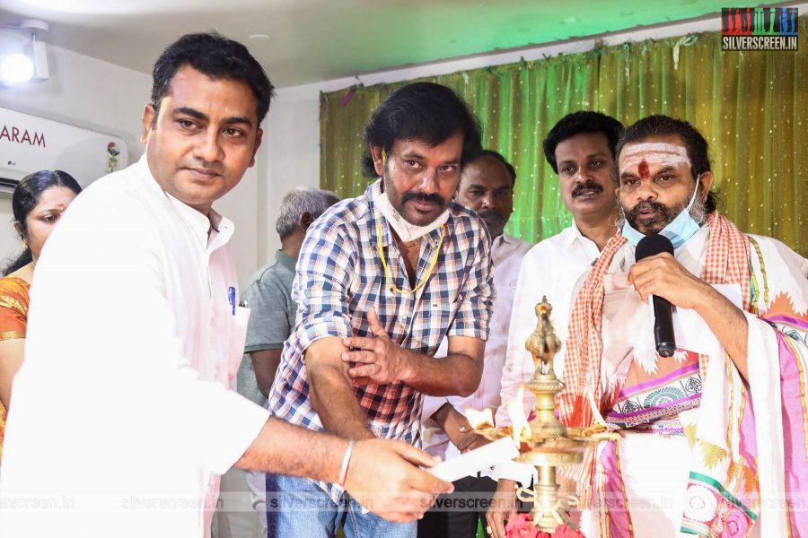 Nataraj Subramaniam At A Movie Launch In Chennai
