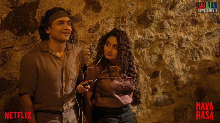 Navarasa Web Series Stills Starring Suriya, Pragya Martin
