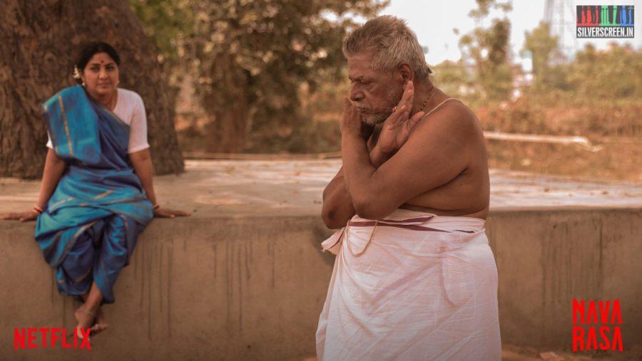 Navarasa Web Series Stills Starring Delhi Ganesh