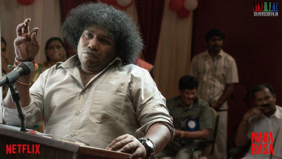 Navarasa Web Series Stills Starring Yogi Babu