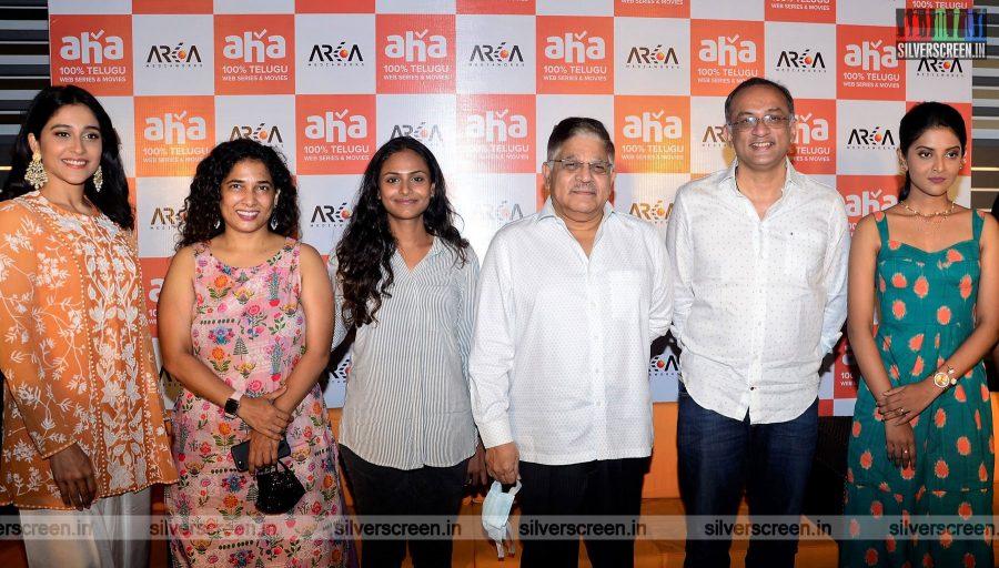 Regina Cassandra, Nivedhithaa Sathish At A Series Launch