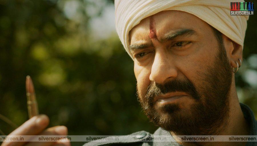 RRR Movie Stills Starring Ajay Devgn