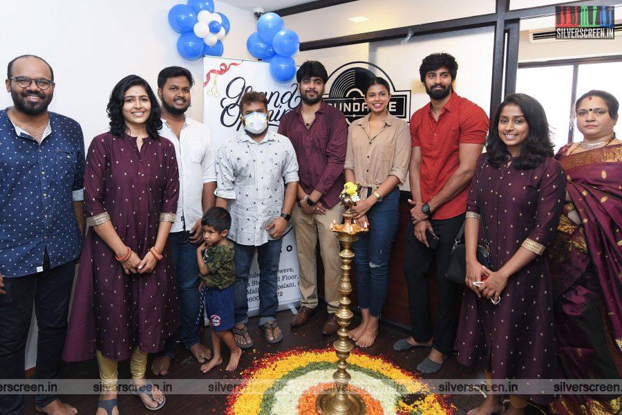 Santhosh Narayanan At Soundable Studio Launch In Chennai