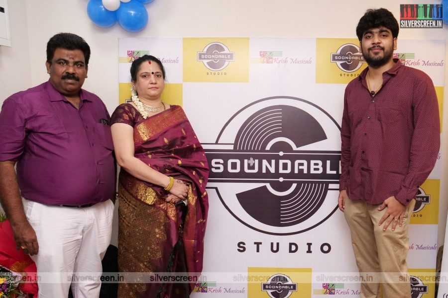 Celebrities At Soundable Studio Launch In Chennai
