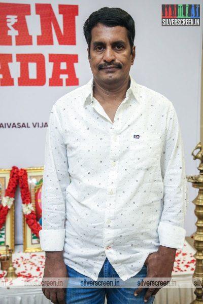 R Kannan At The Kasethan Kadavulada Movie Launch