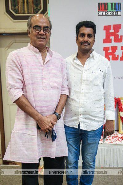 R Kannan, Thalaivasal Vijay At The Kasethan Kadavulada Movie Launch