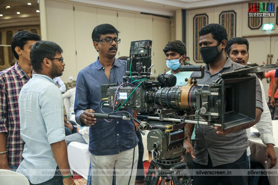 Celebrities At The Kasethan Kadavulada Movie Launch