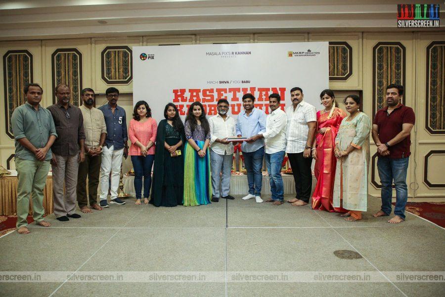 Priya Anand, Shiva At The Kasethan Kadavulada Movie Launch