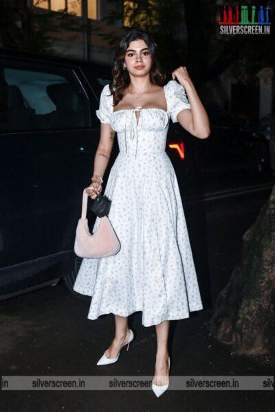Khushi Kapoor At Rhea Kapoor's Wedding Party