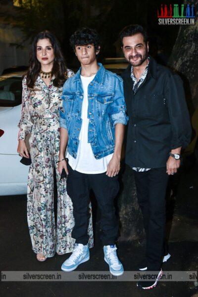 Celebrities At Rhea Kapoor's Wedding Party