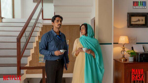 Navarasa Web Series Stills Starring Siddharth, Parvathy