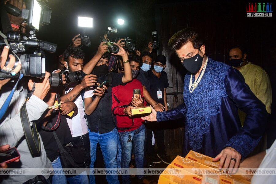 Anil Kapoor At Rhea Kapoor and Karan Boolani's Wedding