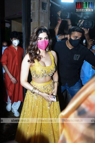 Khushi Kapoor At Rhea Kapoor and Karan Boolani's Wedding