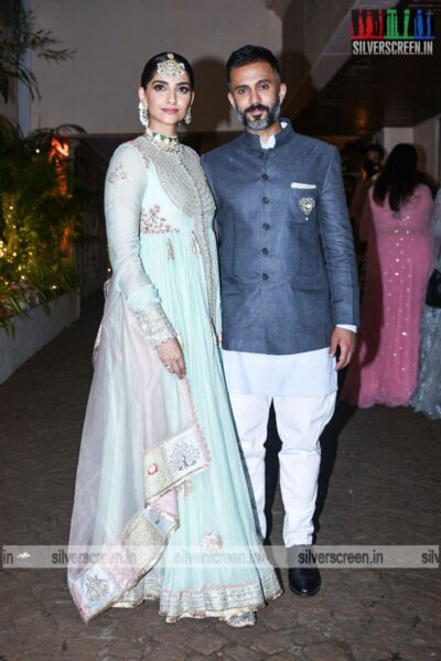 Sonam Kapoor At Rhea Kapoor and Karan Boolani's Wedding