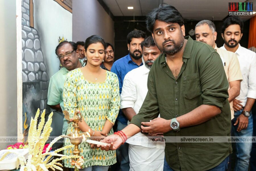 Aishwarya Rajesh At GS Arts' Production No. 2 Movie Launch
