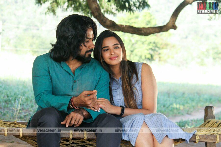 Bhagavan Movie Stills Starring Aari Arjunan, Pujita Ponnada