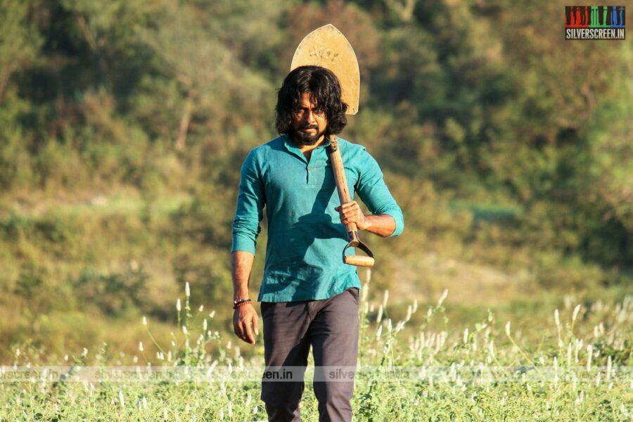 Bhagavan Movie Stills Starring Aari Arjunan