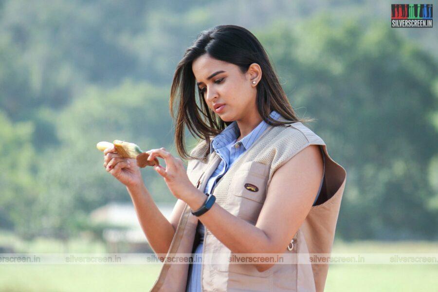 Bhagavan Movie Stills Starring Pujita Ponnada