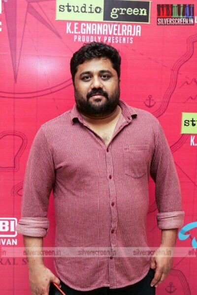 KE Gnanavelraja At The Pandrikku Nandri Solli Audio Launch