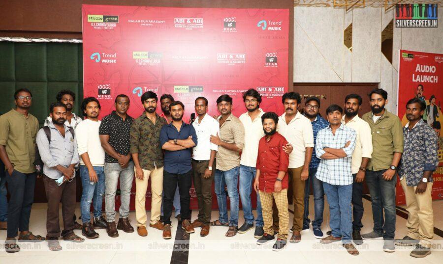 Celebrities At The Pandrikku Nandri Solli Audio Launch
