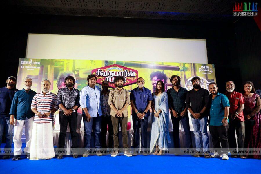Celebrities At The Sivakumarin Sabadham Press Meet